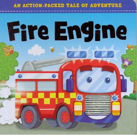 Action Packed Tale  Fire Engine