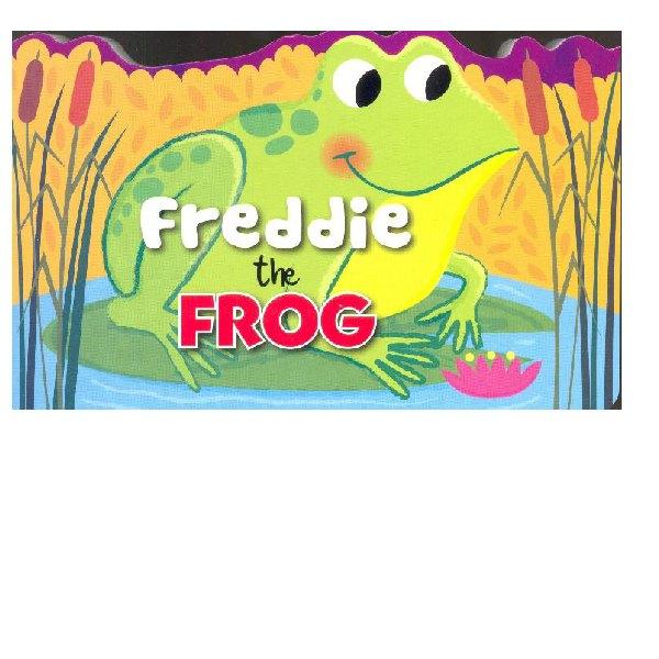 Shaped Animal Board Book Frog