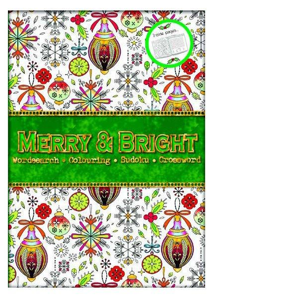 Merry & Bright Bumper Puzzle Book