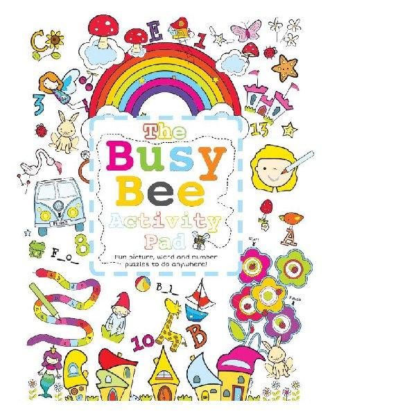 Busy Bee Activity Pad Girl