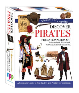 Wonders of Learning Discover Pirates Educational Boxset