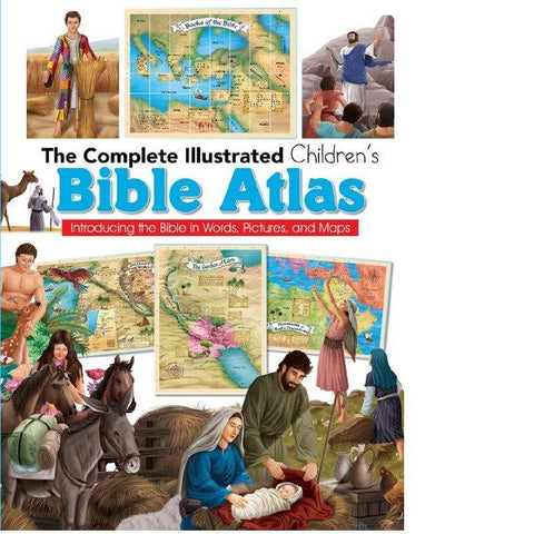 Illustrated Childrens Bible Atlas