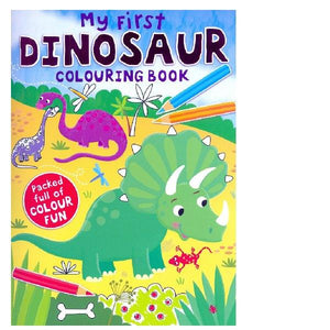 My First Dinosaur Colouring Book