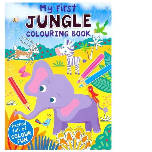 My First Jungle Colouring Book