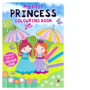 My First Princess Colouring Book