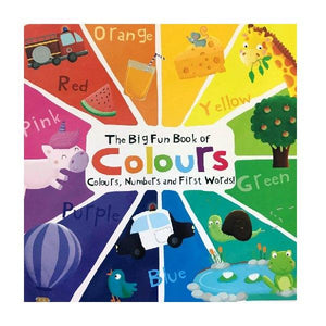 Big Fun Book of Colours Board