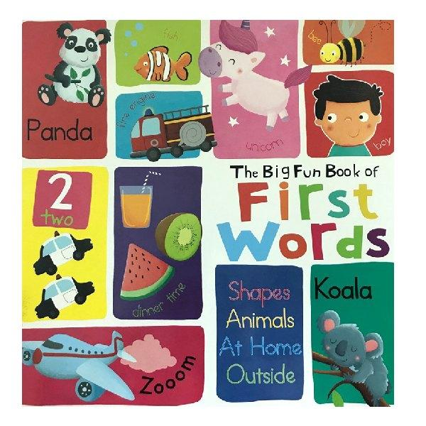 Big Fun Book of First Words Board