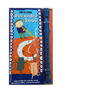 Fun to Learn Recorder Book Blue