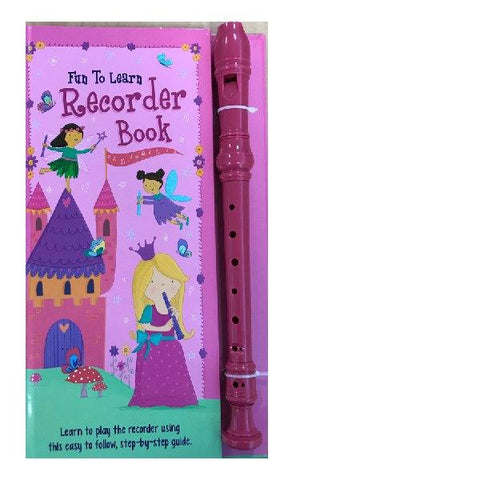 Fun to Learn Recorder Book Pink