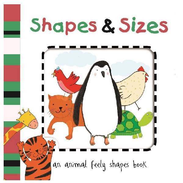 Cut Out Board Book - Shapes & Sizes