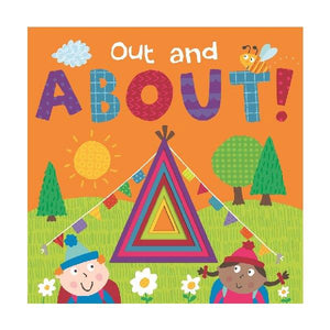 Window Die Cut Board Book  Out & About