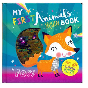 My First Animals Sequin Board Book