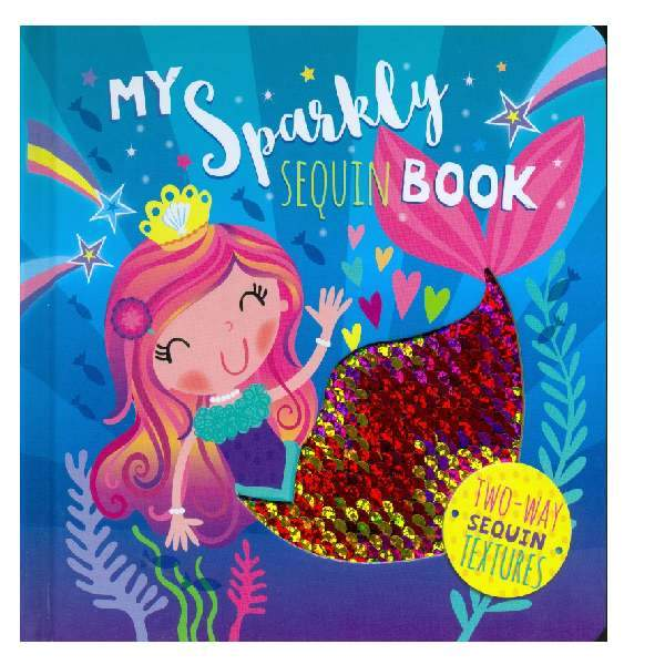 My First Sparkly Sequin Book