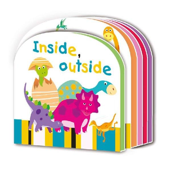 Early Learning Eva Board Inside Out Board Book