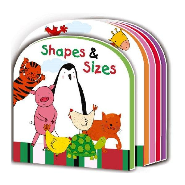Early Learning Eva Board Shapes Sizes Board Book