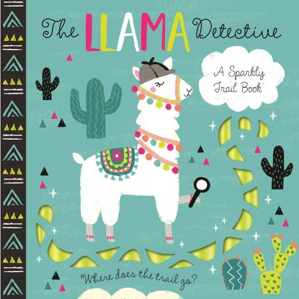 LLama Detective Sparkly Trail Book