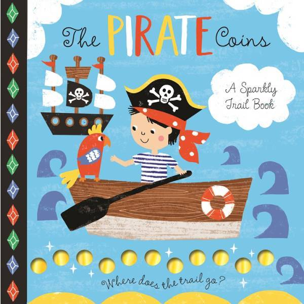 Pirate Coins Sparkly Trail Book
