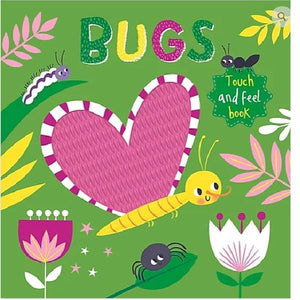 Touch & Feel Bugs Silicon Board Book