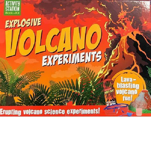 Explosive Volcano Experiments  Book + Kit