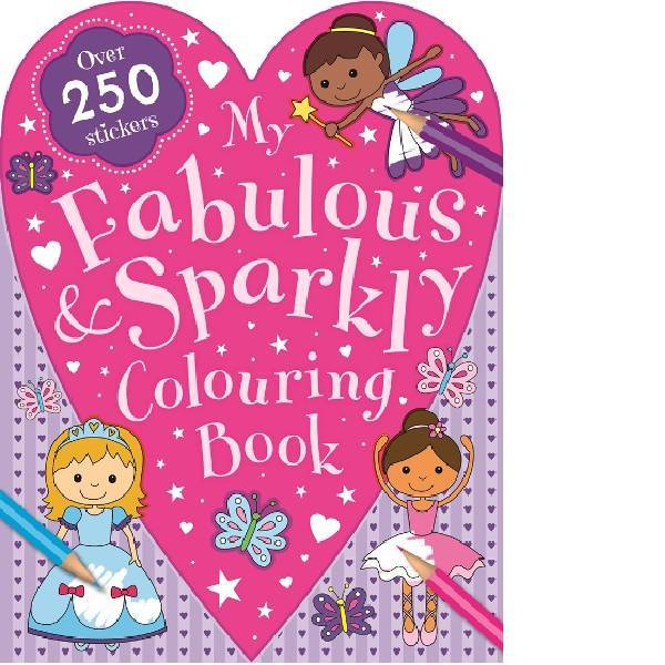 My Fabulous Sparkly Colouring Book