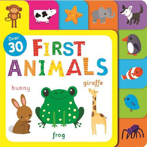 Animals Fun Tabs Play Book