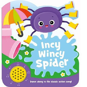 Incy Wincy Spider Shaped Sounds