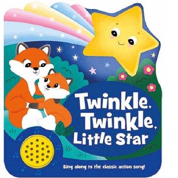 Twinkle Twinkle Little Star Shaped Sound