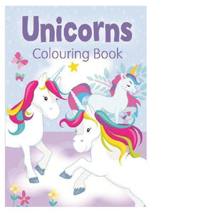 Unicorn Colouring Bk 2 Purple