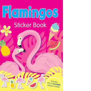 Flamingo Sticker Book