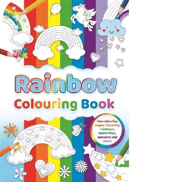 Rainbow Colouring Book