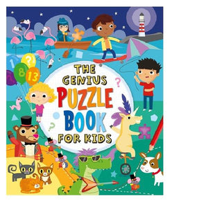 The Genius Puzzles Book for Kids