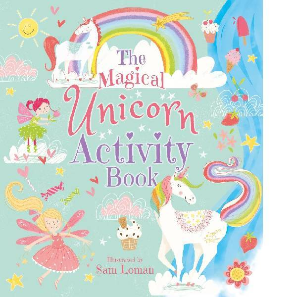 Magical Unicorn Activity Book