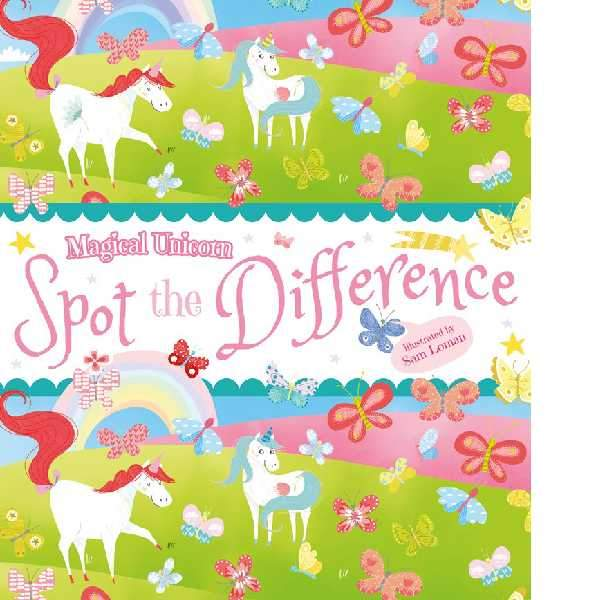 Magical Unicorn Spot the Difference