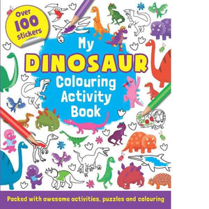Dinosaur Colour and Sticker Activity