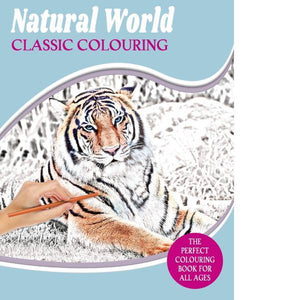 Natural World Classic Colouring