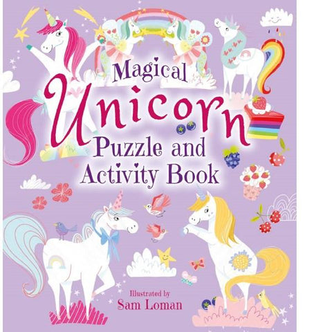 Magical Unicorn Puzzle Activity Book
