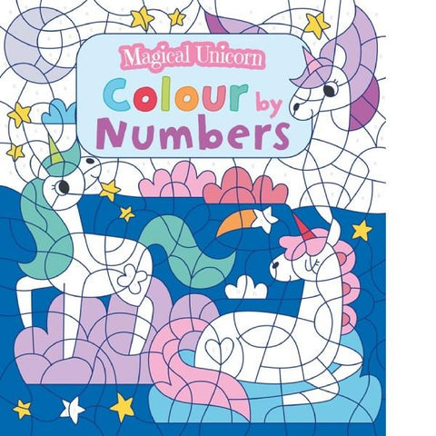 Magical Unicorn Colour By Numbers
