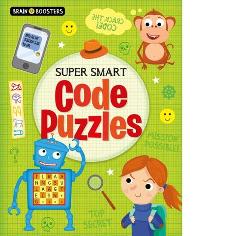 Brain Booster Super Smart Code Puzzles