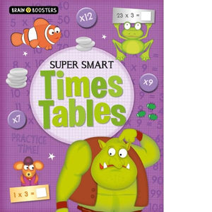 Brain Booster Super Smart Times Table