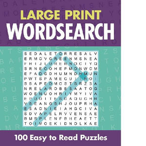 Classic Large Print Wordsearch