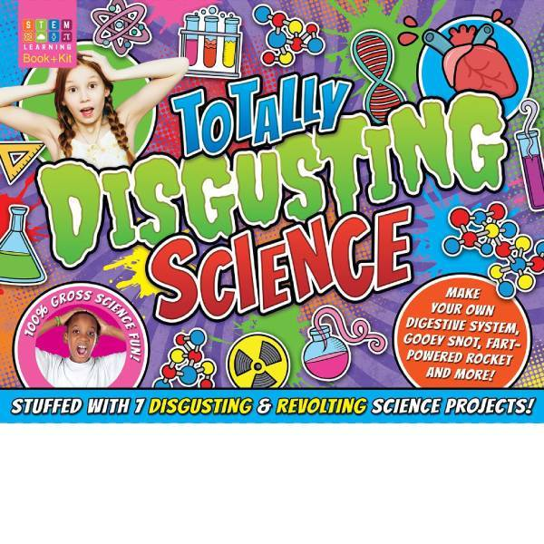 Totally Disgusting Science STEM learning  Book + Kit