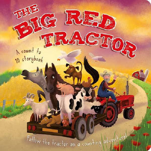 Big Red Tractor Padded Board Book