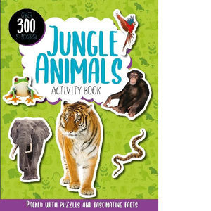 Jungle Animals Activity Book