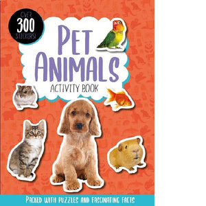 Pet Animals Activity Book