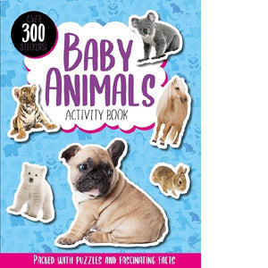 Baby Animals Activity Book