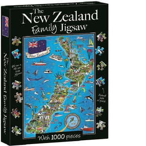 1000PC New Zealand Family Jigsaw Puzzle