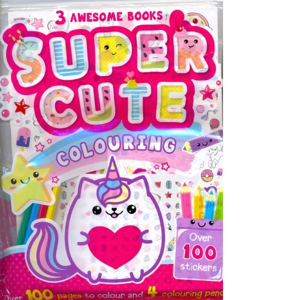 Super Cute Colouring Grab Bag