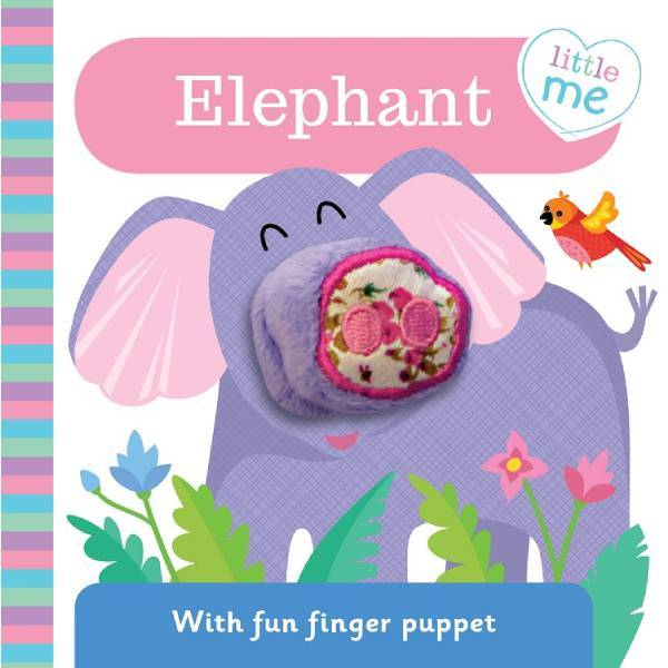 Little Me Elephant Finger Puppet Book