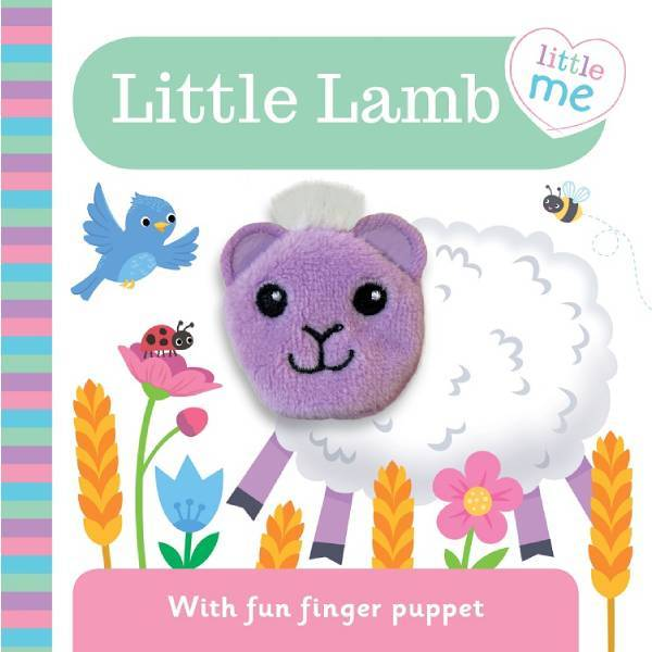 Little Me Little Lamb Finger Puppet Book