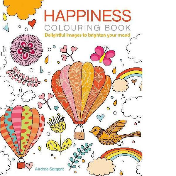 Happiness Colouring Book